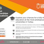 بورس تحصیلی ترکیه زبان مستر